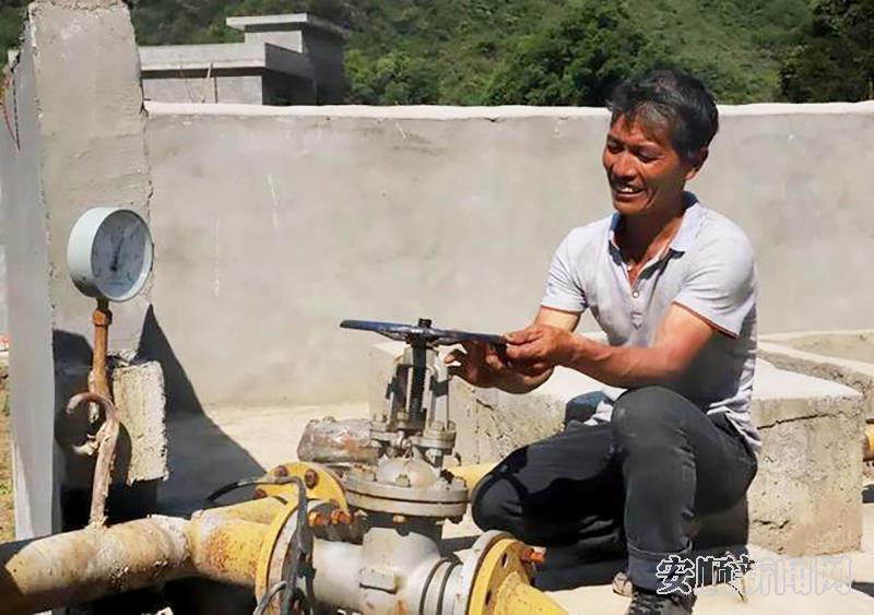 农村饮水安全工程,让打若村通了自来水.jpg